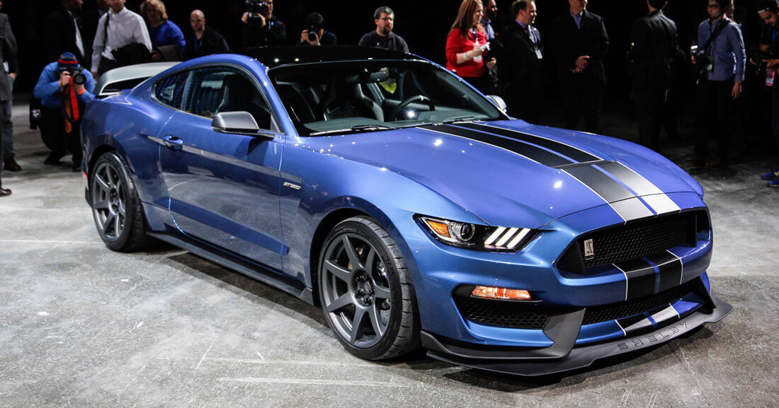 Ford Shelby GT350R Mustang фото