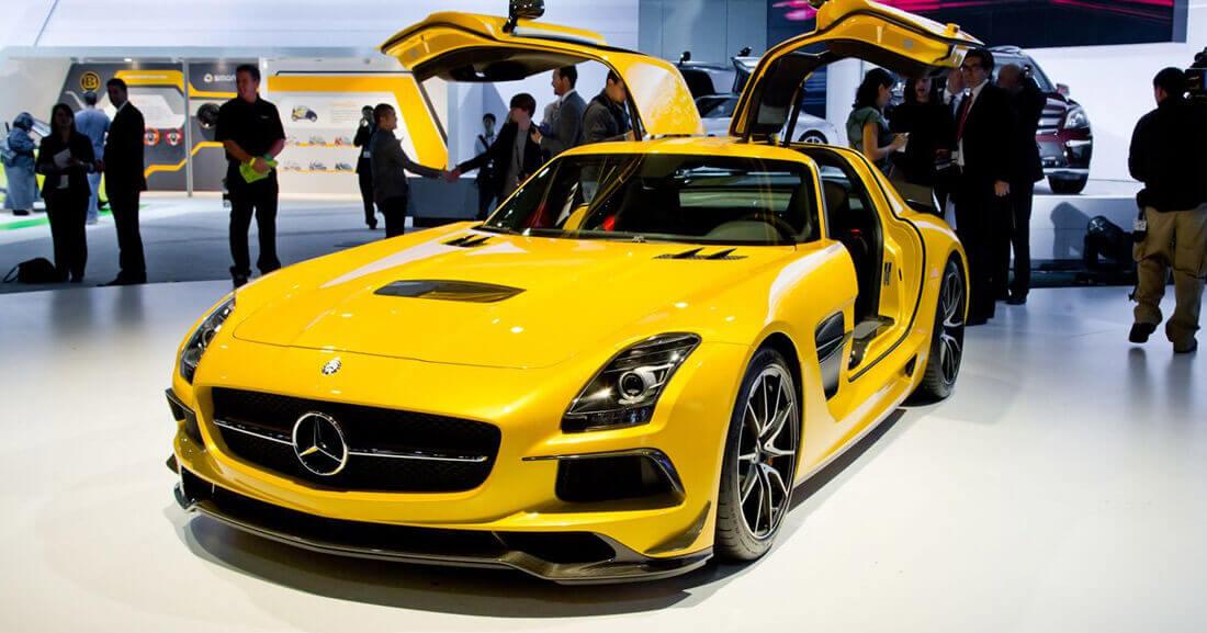 Mercedes SLS AMG фото