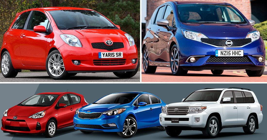 Лучшие японские подержанные автомобили до 900 тыс. руб